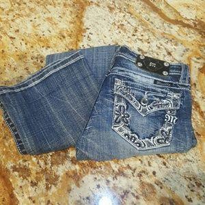 Tween/Girls Miss Me Bootcut Jeans (Size 14)